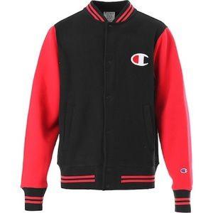 Champion Color Block Letterman Jacket